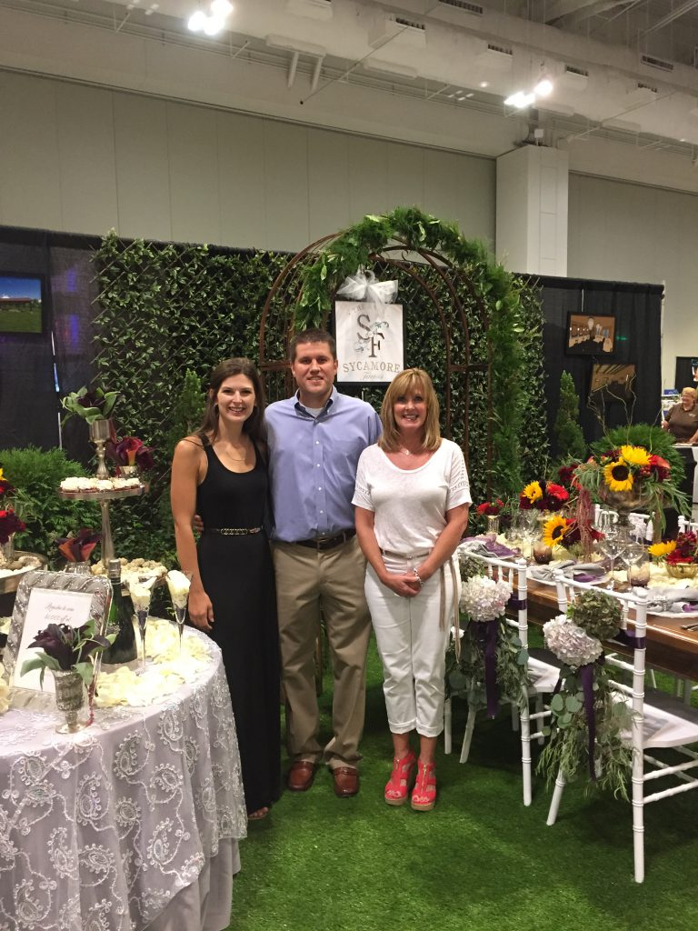 Sycamore Farms team ready to greet the brides