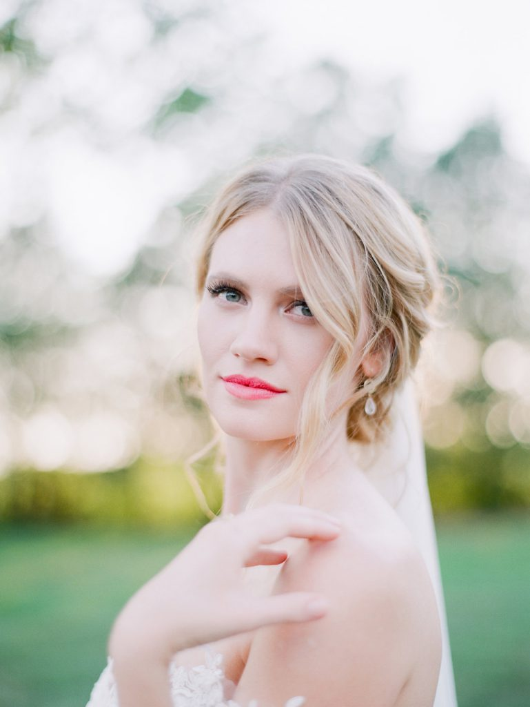 bridal headshot